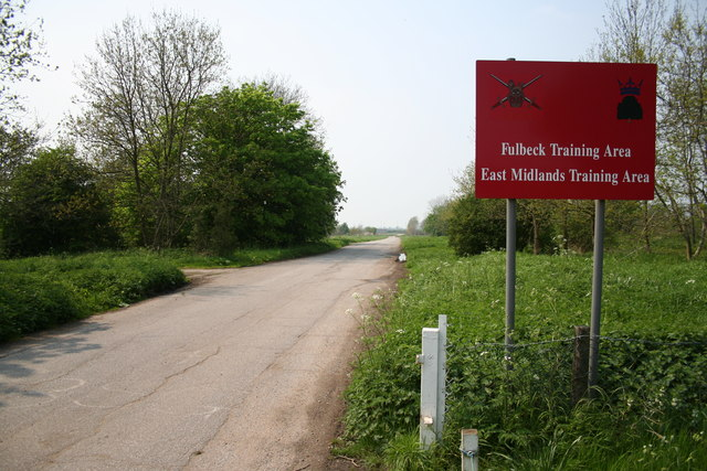 Fulbeck Training Area