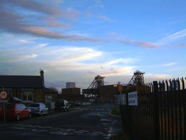 Ellington Colliery Entrance