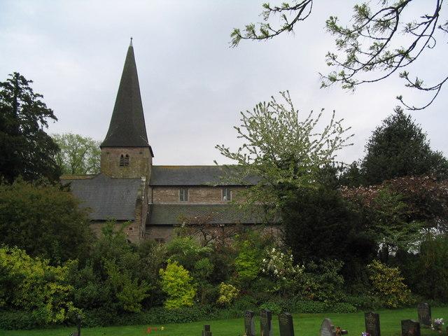 Church of St Teilo, Llantilio Crossenny