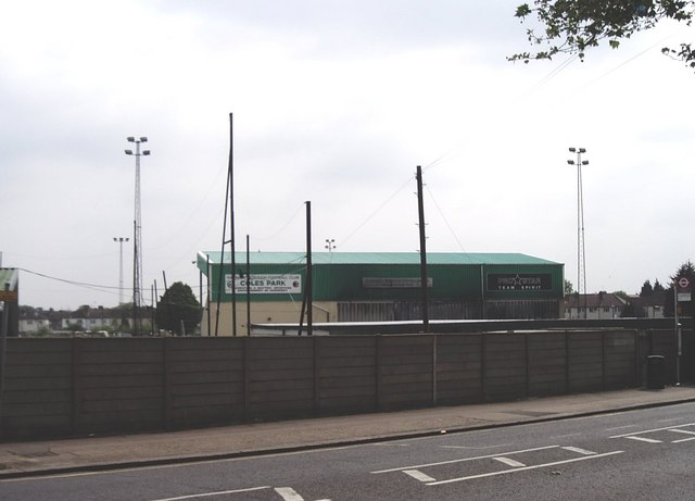 Coles Park football ground, White Hart Lane, Tottenham