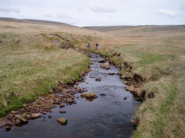 Crossing the Afon Twrch