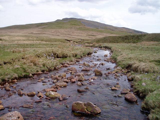 Afon Giedd below Disgwylfa