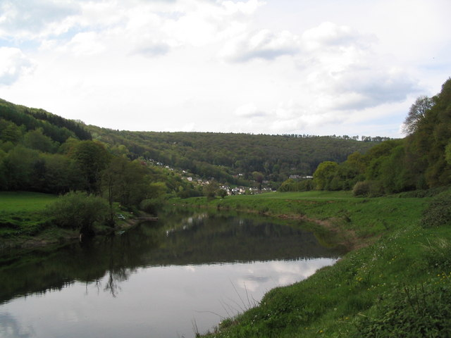River Wye above Coed-Ithel Weir