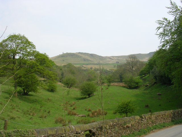 View from Tunstead Lane