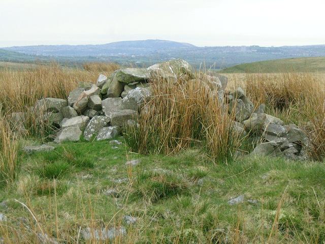 Cairn on Mynydd Garn-Fach