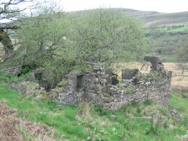 Derelict near Mynydd Garn-Fach