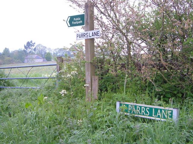 Parr's Lane, Chudleigh