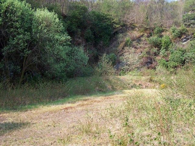 Rothesay - Rhubodach, Old Quarry