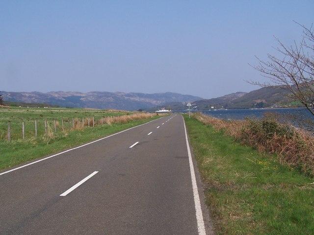 Rothesay - Rhubodach, Road