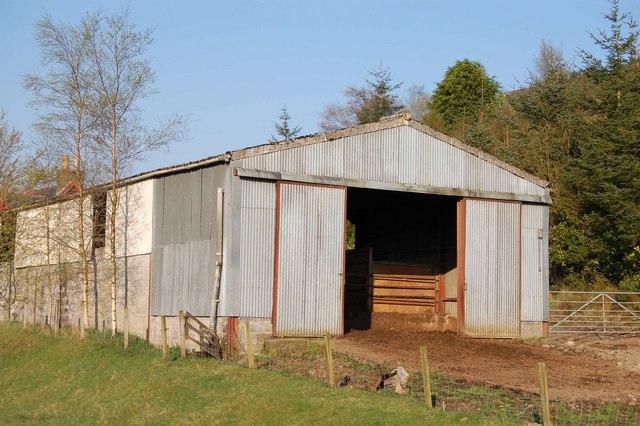 Glencarron Farm Building