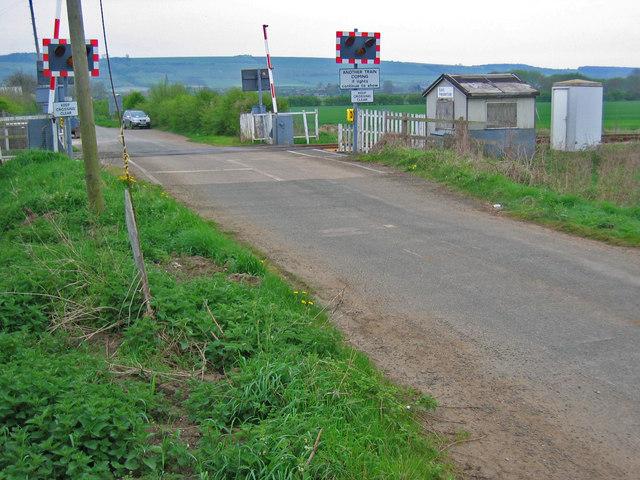 East Heslerton Level Crossing