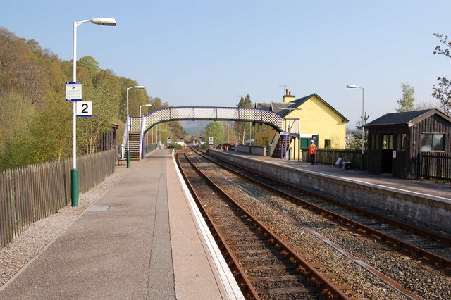 Garve Railway Station