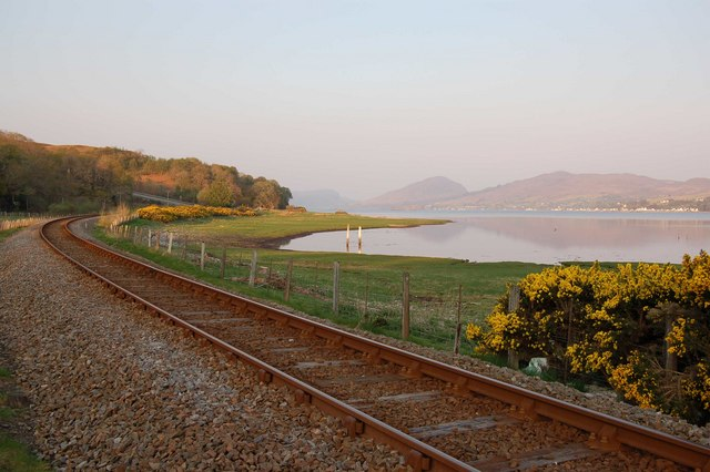 Railway at Loch Carron