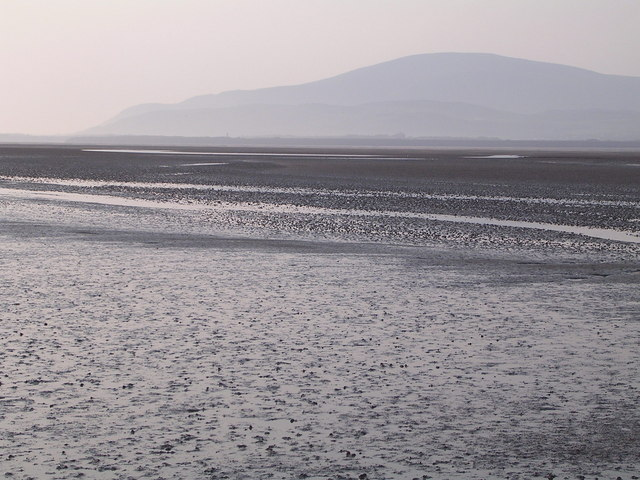 Mud flats looking across to Black Combe