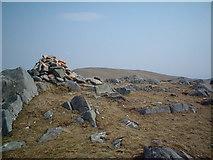 NN3164 : Beinn a' Bhric cairn, Leum Uilleim in the background by Chris Wimbush