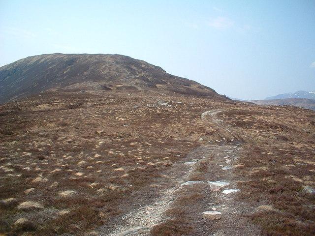 An Diollaid ridge to Beinn a' Bhric
