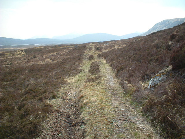 The track from Blackwater reservoir