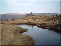 NN3764 : Lubnaclach ruin by Chris Wimbush