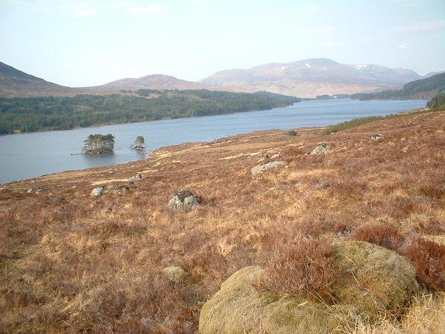 Ruibh Riabhach by Loch Ossian