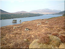 NN3867 : Ruibh Riabhach by Loch Ossian by Chris Wimbush