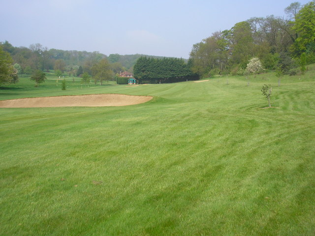 Twelfth fairway, West Kent Golf Club