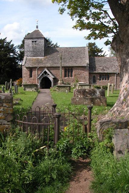 Brampton Abbotts Church