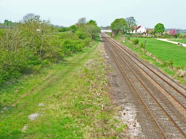Site of Carlton/Redmarshall Station