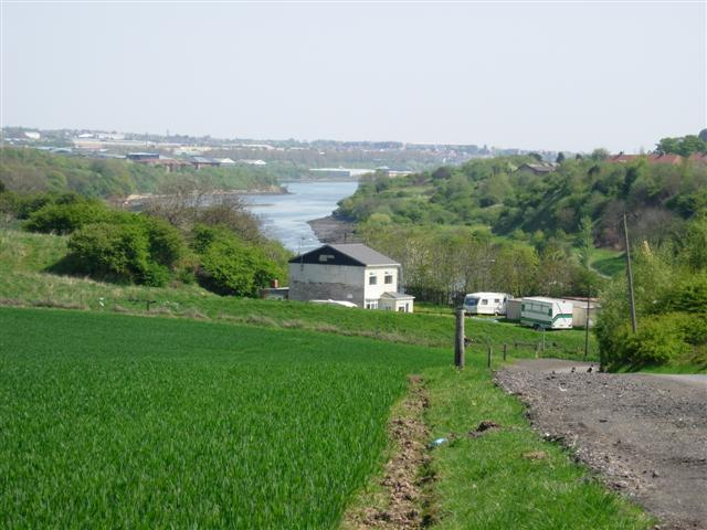 River Wear with Sunderland in the background