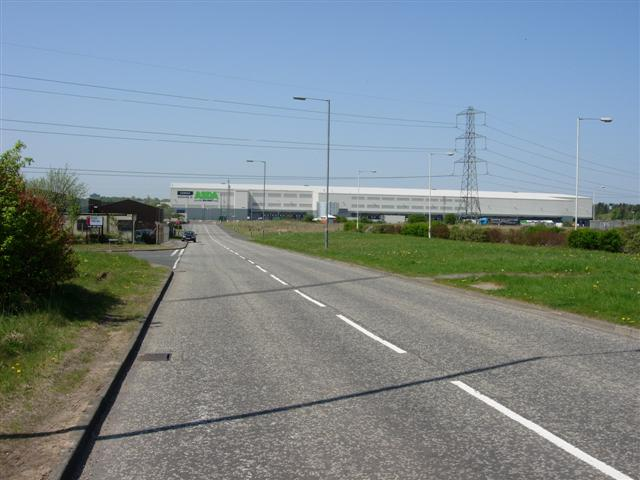 ASDA distribution warehouse