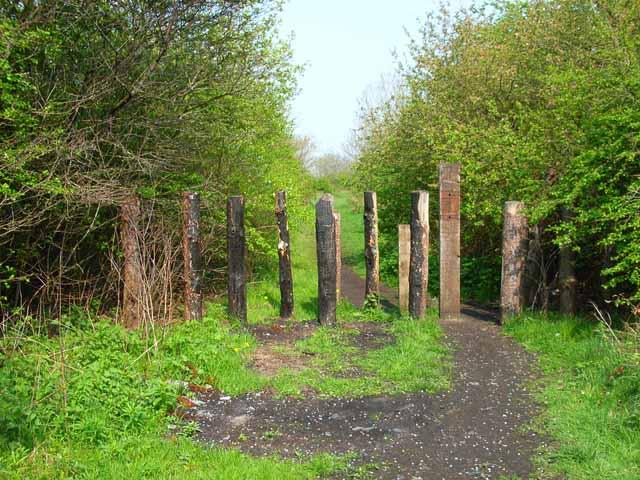 Old railway near Thorpe Thewles