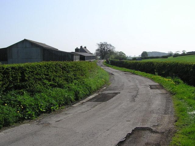 Newbiggin Lane.