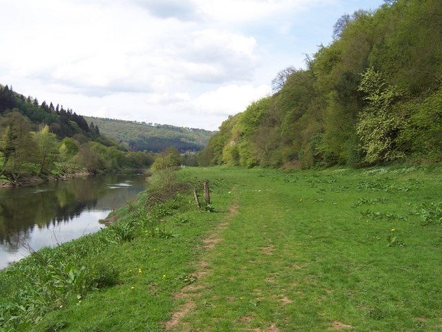 River Wye north of Brockweir