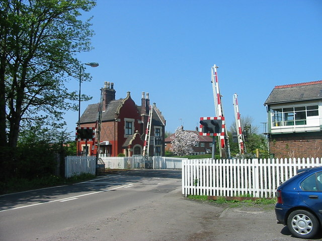 Caverswall Lane Crossing