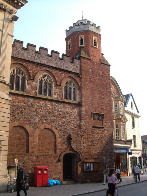 St Petrock's church, Exeter