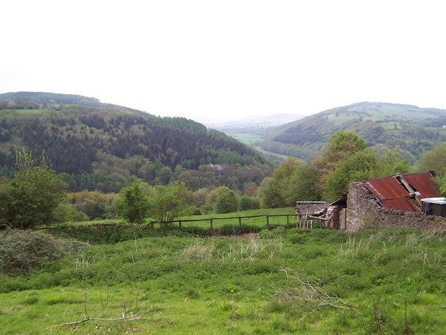 Wye Valley from Highbury Farm