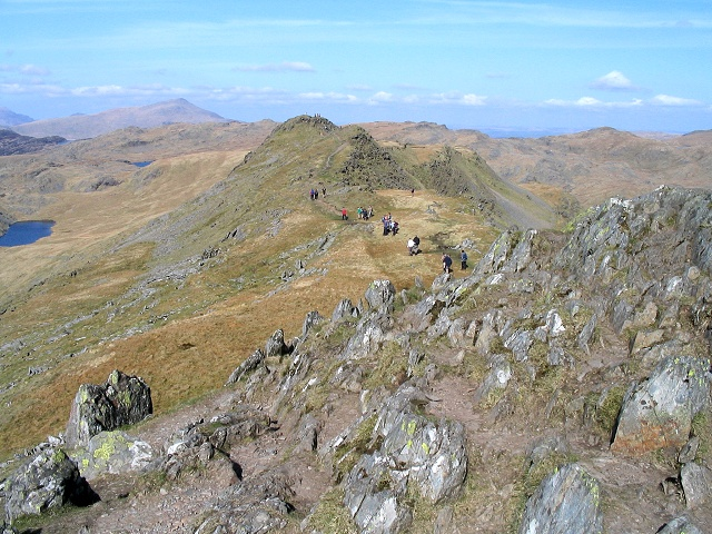 Towards the northeast summit of Cnicht