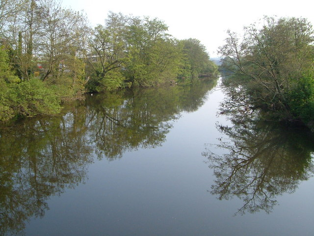River Exe at St David's