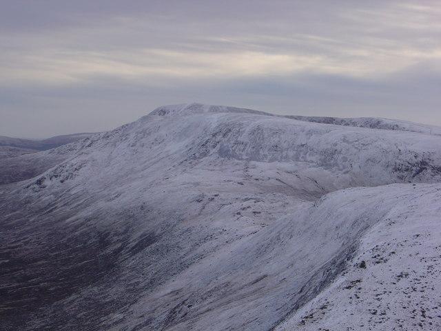 The Merrick viewed from Shalloch on Minnoch
