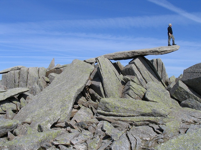 The Cantilever on Glyder Fach