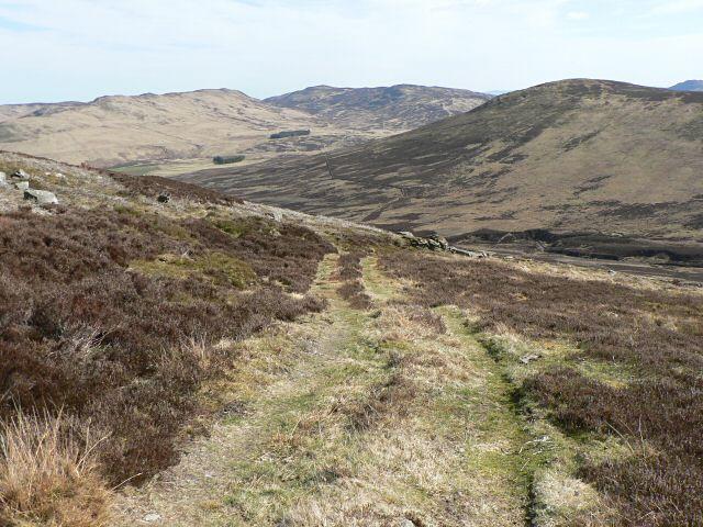 Track on Beinn Liath