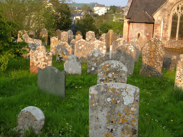 Churchyard at Kingskerswell