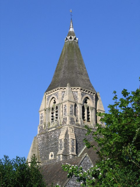 Spire of Holy Trinity, Norwich
