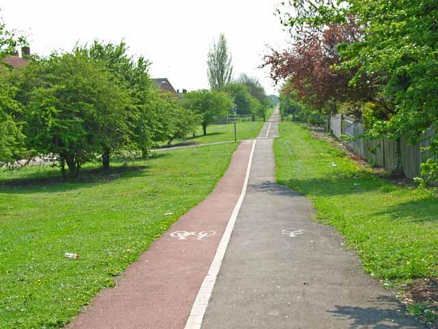 Cycle path, Stockton-on-Tees