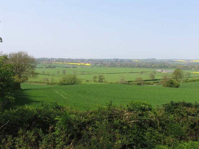 View north from Debdale Lane