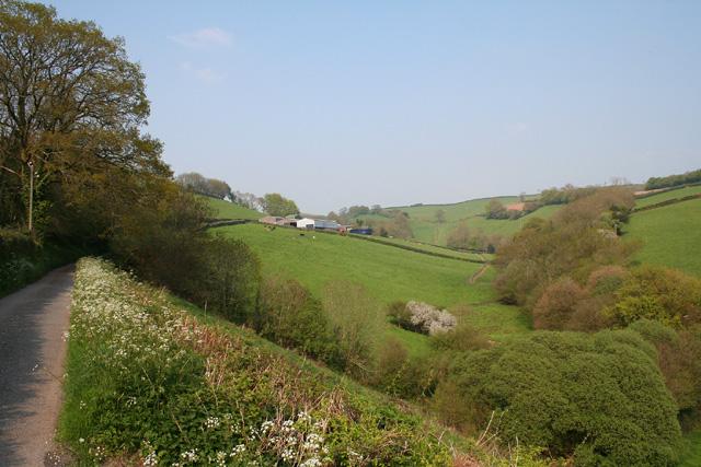 Skilgate: near Bittescombe Hill Farm