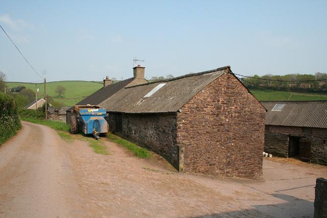 Skilgate: Bittescombe Hill Farm