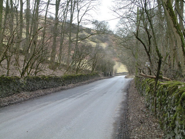 Road near Wirksworth.