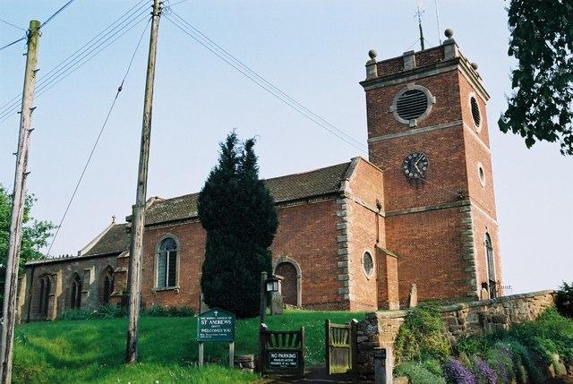 Quatt - St Andrew's Church