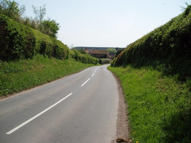 Entering Egmanton, Nottinghamshire
