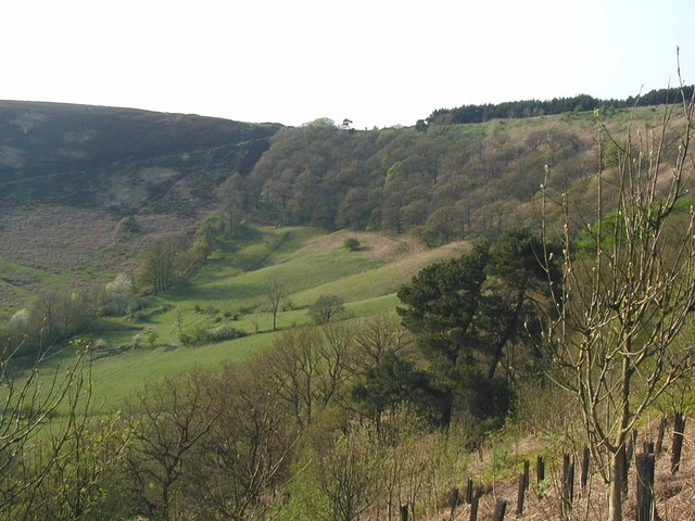 The Hole of Horcum in spring